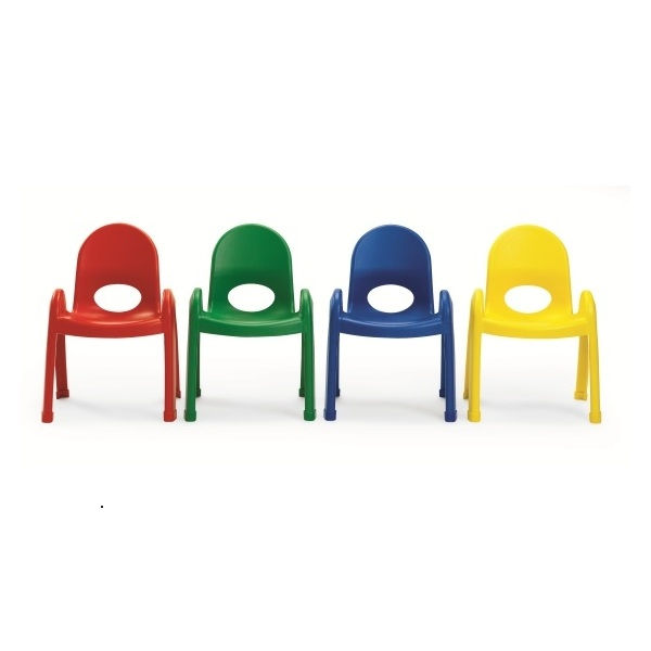 Primary Plastic Chairs 4 Pack