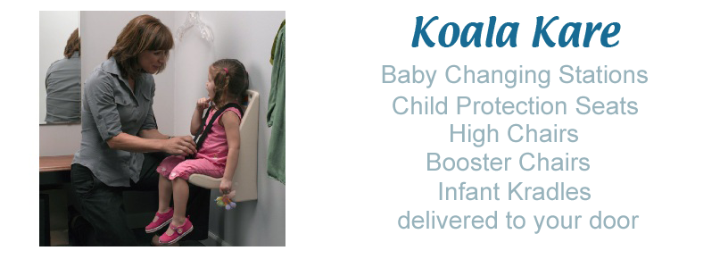Koala Bear Kare Baby Changing Station GENUINE KOALA PRODUCTS - Commercial bathroom baby changing table