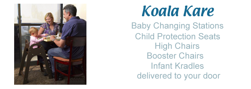 Koala Bear Kare Baby Changing Station GENUINE KOALA PRODUCTS - Koala care changing table