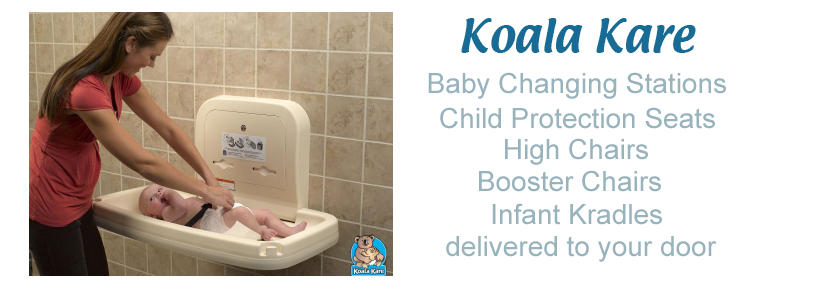 Koala Bear Kare Baby Changing Station Genuine Koala